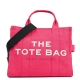 SMALL TRAVELER TOTE - 670-BRIGHT PINK